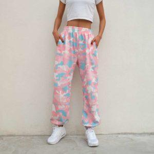 Pastel Camouflage Sweatpants