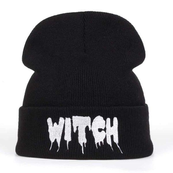 """Witch"" Dripping Beanie"