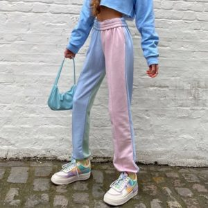 Pastel Patchwork Trousers