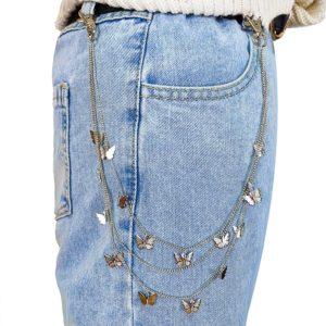 Butterfly Belt Waist Chain